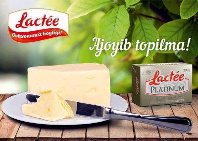 lactée butter burro logo mockup uzbekistan coffeeandesigns studio grafico salerno