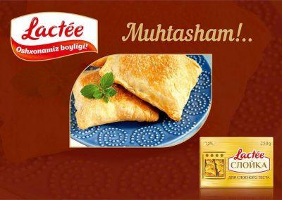 lactée butter margarina logo uzbekistan coffeeandesigns studio grafico salerno