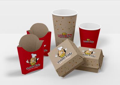 visual brand identity mr potato