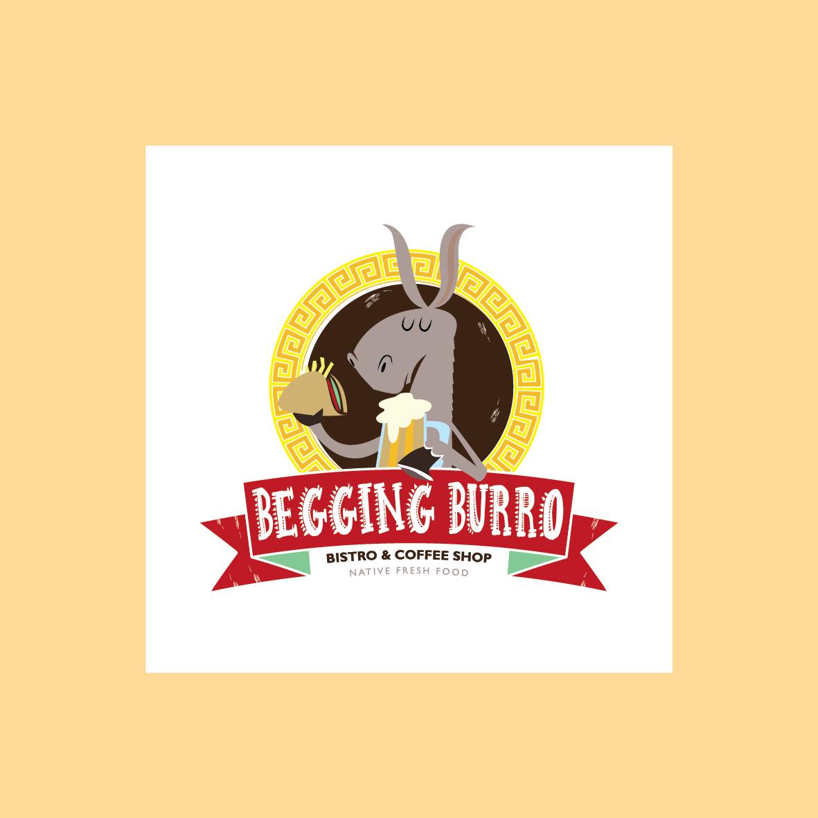 Beggng Burro Logo