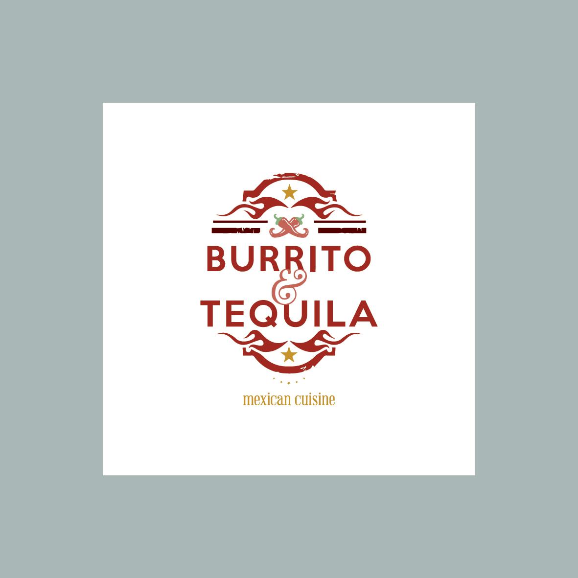 Burrito & Tequila Mexican Cuisine Logo