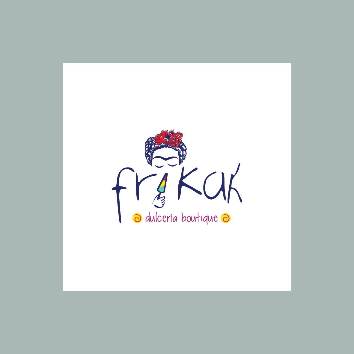 frikah dulceria logo