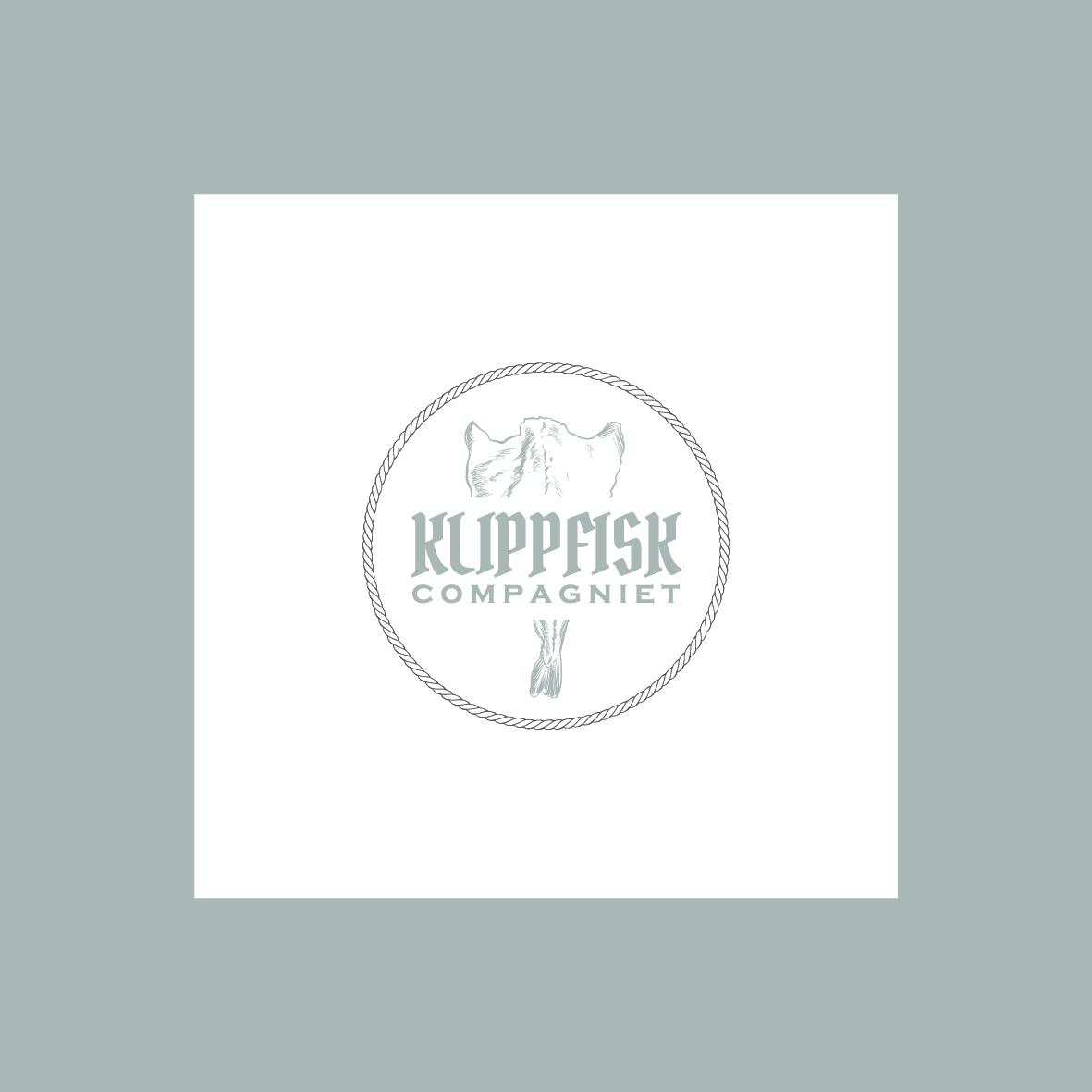 klippfisk compagniet logo grafica salerno