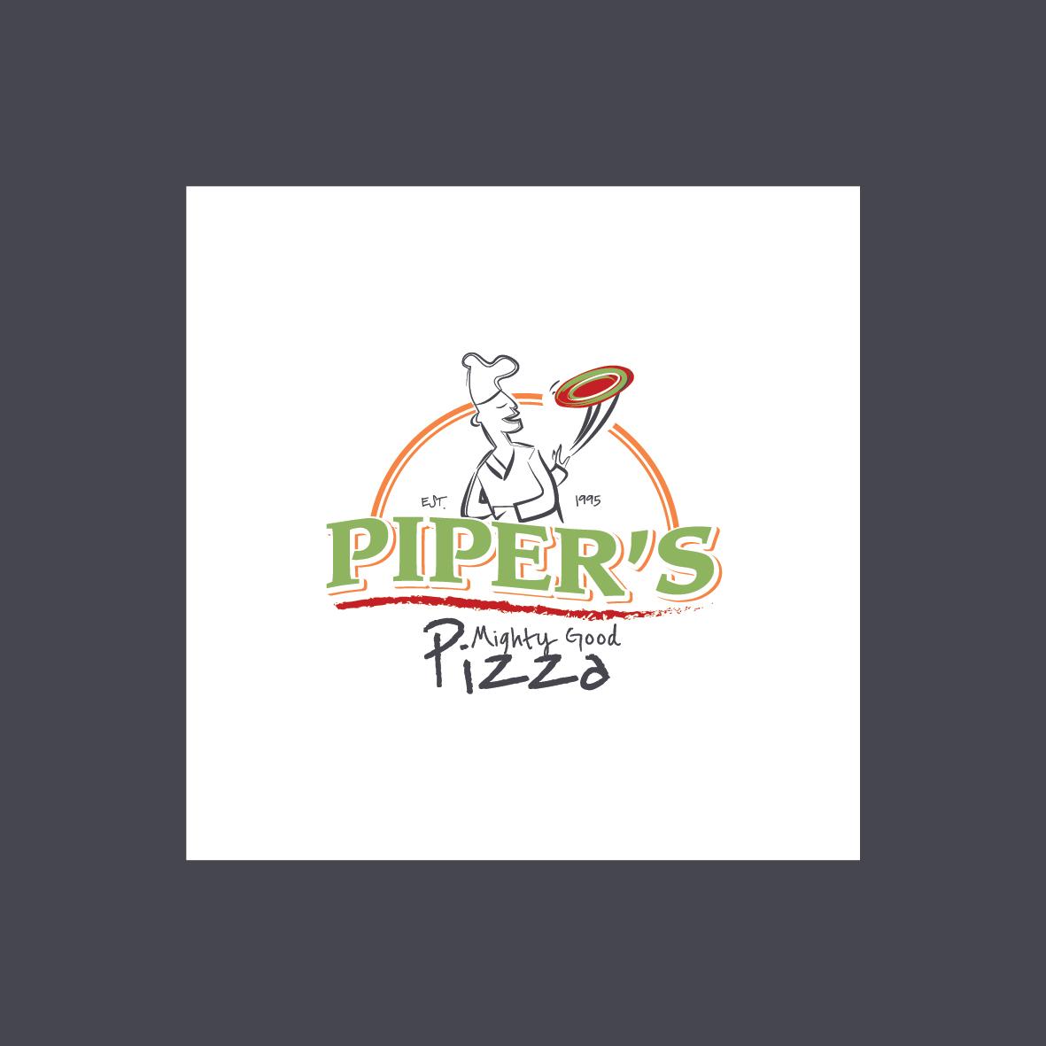 piper's pizza logo