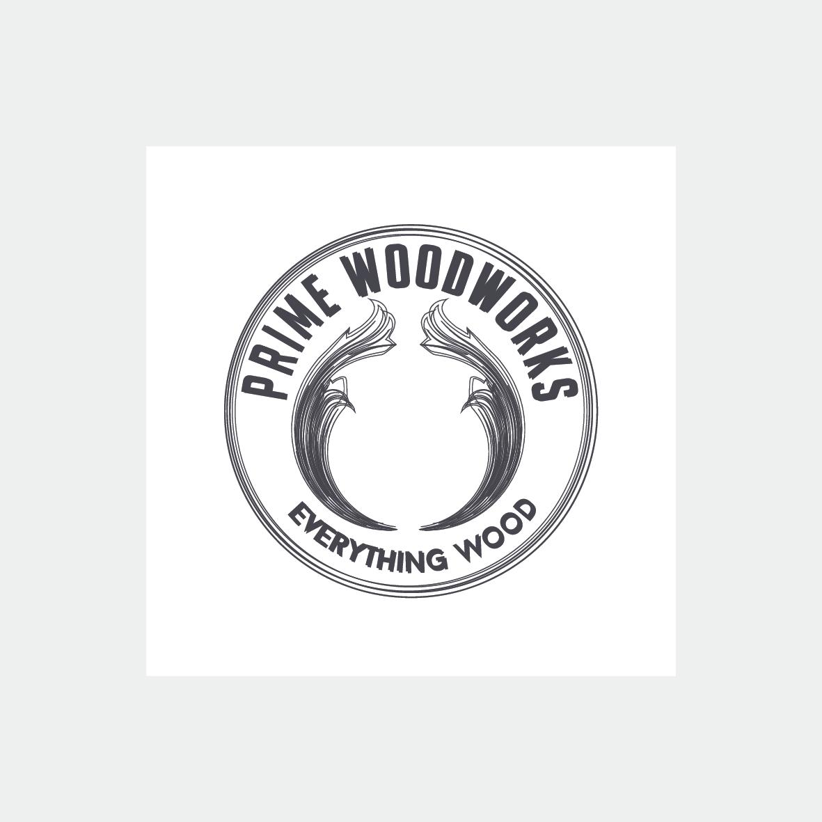 prime woodworks logo grafica pubblicitaria salerno baronissi