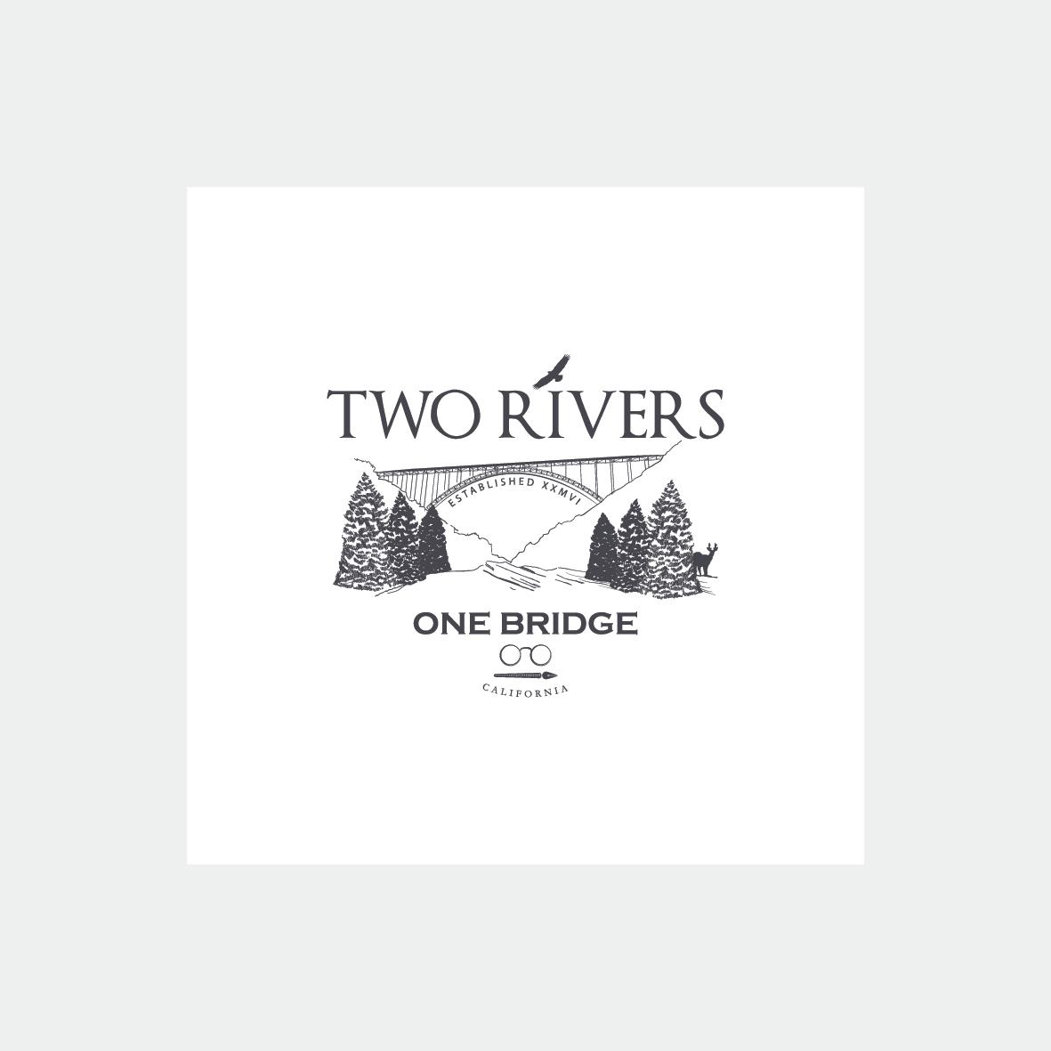 two rivers logo grafica salerno baronissi